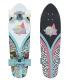 """Skate Dusters Flashback Jiggy 28"""" Cruiser Complete Longboard"""
