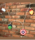 Marvel Avengers Marvel 2D String Lights