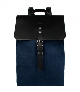 Sandqvist Alva Blue Backpack