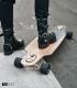 "Skate Dusters Channel 34"" Gold Complete Longboard"