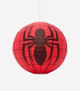 Abat-jour boule Marvel Spiderman en papier