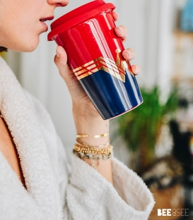 Travel Mug Wonder Woman Emblème