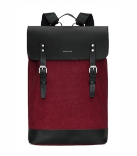 Sandqvist Hege Burgundy Backpack