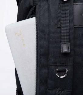 Sandqvist Harald Black Backpack
