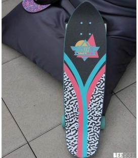 "Skate Dusters Jiggy Flashback 28"" Complete Longboard"