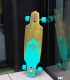 "Dusters Channel Prism Turquoise Gold 34"" Complete Longboard"