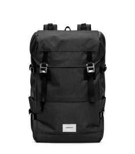Sandqvist Harald Black Backpack