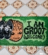 Guardians of the galaxy (Groot) Doormat