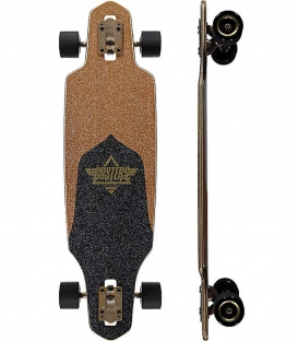 "Skate Dusters Channel 34"" Gold Complete Longboard"