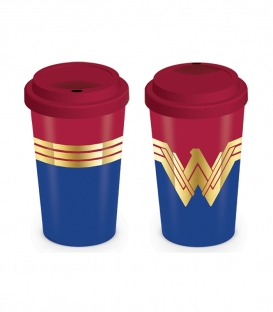 Wonder Woman Travel Mug (Emblem)