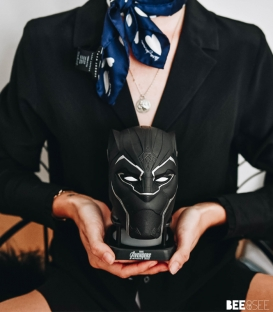 Enceinte 360° à LED Bluetooth Marvel Black Panther Avengers