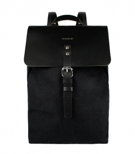 Sandqvist Alva Black Backpack