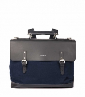 Sandqvist Jones Blue Briefcase