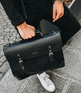 Sandqvist Jones Black Briefcase