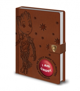 Guardians of the Galaxy Premium A5 Audio Notebook - I am Groot