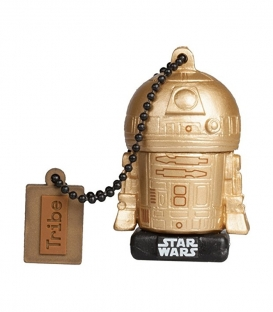 R2-D2 Star Wars 3D USB Key 16GB Gold Last Jedi