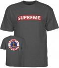 Supreme Heather grey T-shirt - Powell Peralta