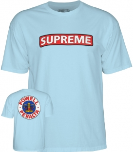T-shirt Supreme Powder blue - Powell Peralta