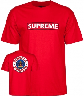 T-shirt Supreme Red - Powell Peralta