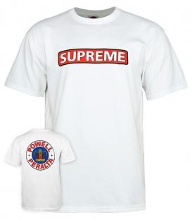 Supreme White T-shirt - Powell Peralta