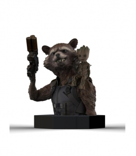 Bust Rocket Raccoon & Groot - Marvel