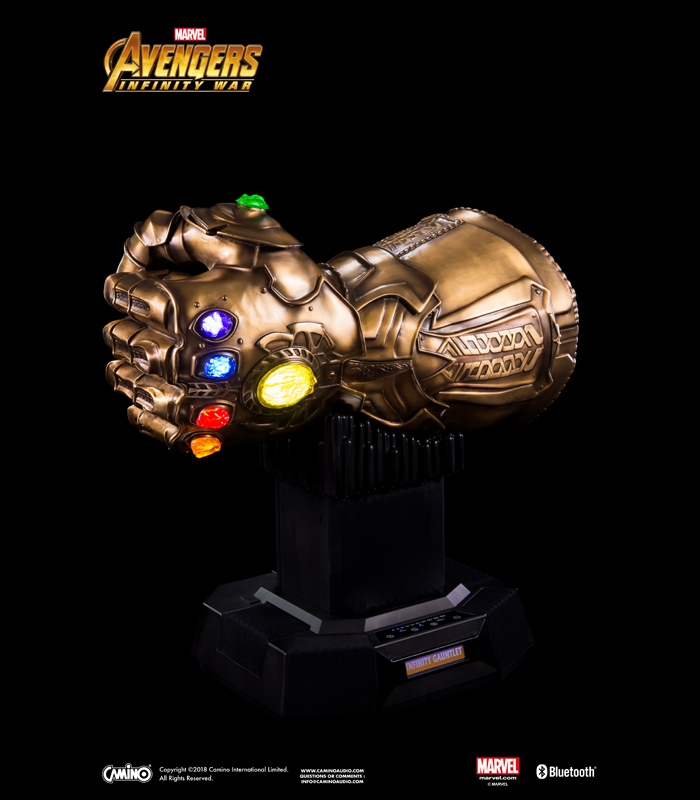 Marvel Bluetooth Speaker - Thanos Infinity Gauntlet (Bronze)