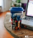 Travel Mug Marvel - Captain America