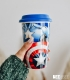 Travel Mug Marvel - Captain America