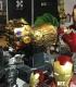 Enceinte Bluetooth Marvel - Gant de l'infini Thanos 1:1 en bronze