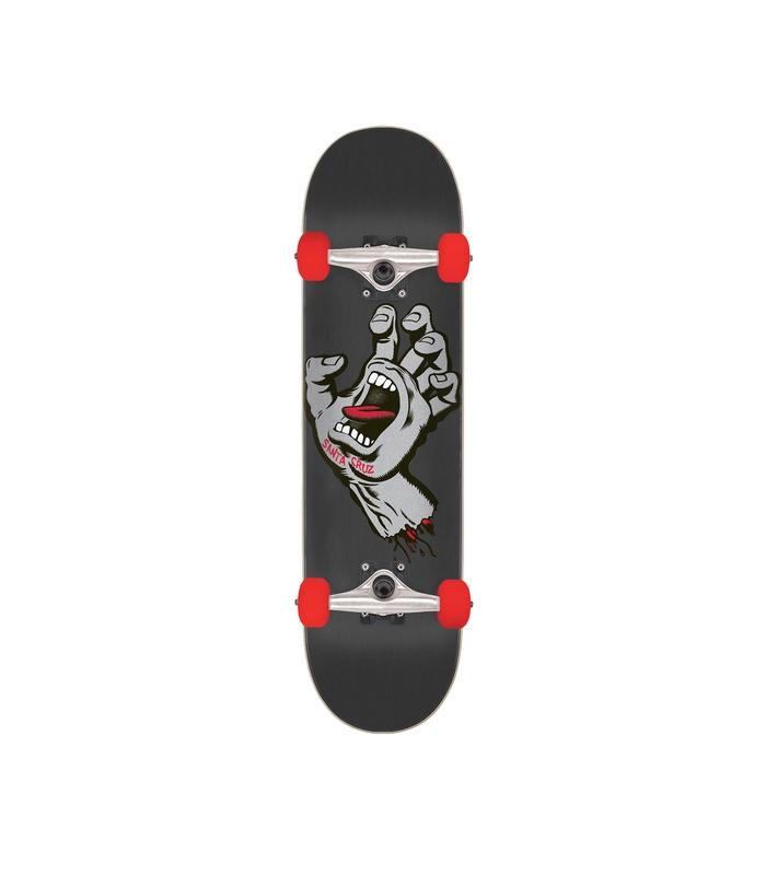 7 8in X 31 7in Screaming Hand Santa Cruz Skateboard Complete