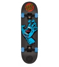 "Santa Cruz 7.25"" x 29,9"" Mid Screaming Hand Skateboard Complete"
