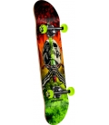 Powell Peralta Skull & Sword Storm complete skateboard assembly red 31,75