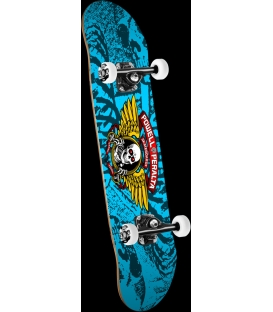 """Skate Powell Peralta Complete Winged Ripper 15 Blue 28"""""""