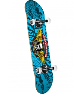 Skate Powell Peralta Complete Winged Ripper 15 Blue 28""