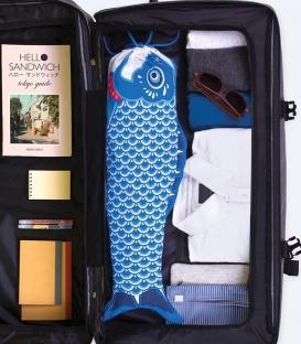 DOIY Koinoborie Blue Travel Laundry Bag