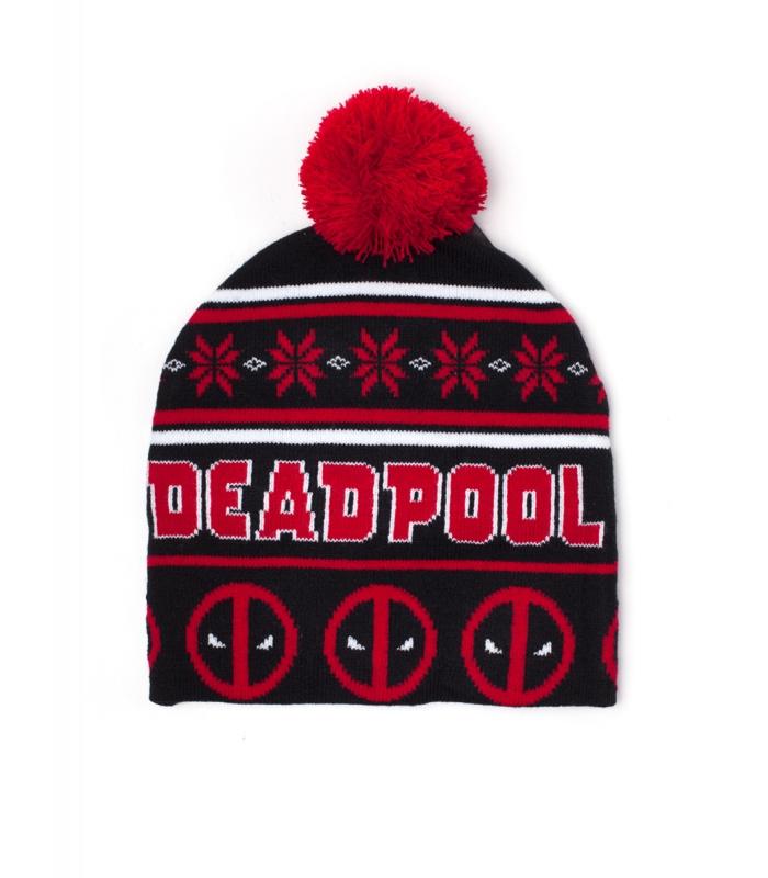 ed1c8b5605a Deadpool Christmas Beanie