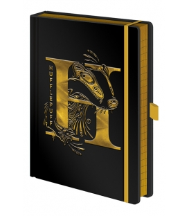 Harry Potter Hufflepuff Premium A5 Notebook