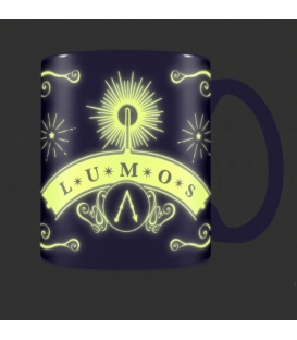 Mug Harry Potter Effet Thermique Glow In The Dark