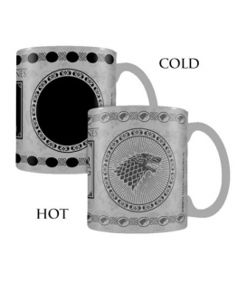 Game of Thrones Stark Heat Changing Mug