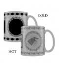 Mug Effet Thermique Game of Thrones Stark