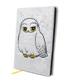 Carnet A5 Fluffy Harry Potter Hedwig