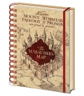 Carnet A5 Harry Potter La carte du Marauder