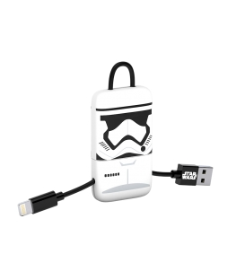 Star Wars Stormtrooper Mini Keyring USB Cable Ligthning Connector