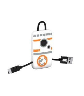 Star Wars BB-8 Mini Keyring USB Cable Ligthning Connector