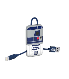 Star Wars R2-D2 Mini Keyring USB Cable Micro-USB Connector