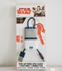 Star Wars R2-D2 Mini Keyring USB Cable Ligthning Connector