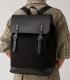 Sandqvist Hege Black Backpack