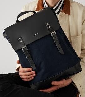 Sandqvist Hege Blue Backpack