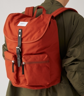 Sandqvist Roald Ground Rust Backpack