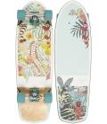"""Skate Dusters Biota 29"""" Teal Complete Longboard"""